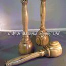 Upright Gavel and Sounding Block Set of Three 9