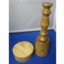 W.M Upright Gavel and Sounding Block Set 12